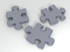 Free Puzzle Pieces Stock Images - 14710274
