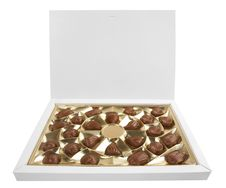 Free Box With Chocolates Royalty Free Stock Image - 14710476
