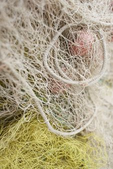 Net For Fishing Royalty Free Stock Photo