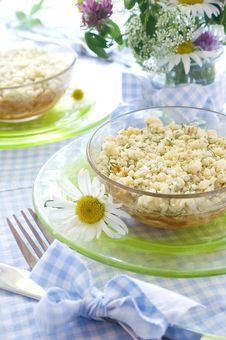 Crumble Royalty Free Stock Image