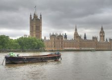 Free Westminster Barge Royalty Free Stock Image - 14712956