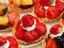 Free Strawberry Tart Royalty Free Stock Photography - 14713157