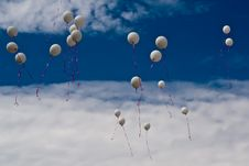 Free Balloons Royalty Free Stock Photography - 14713317