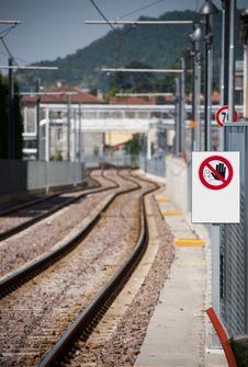 Free Train No Walking Stock Photos - 14713973
