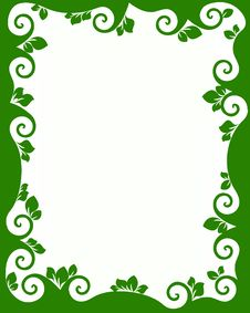 Free Green Ecology Frame Royalty Free Stock Image - 14714006
