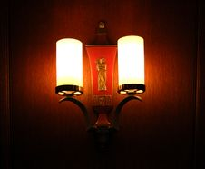 Free Vintage Wall Sconce Stock Photo - 14714080