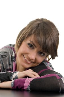 Free Portrait Of Beautiful Woman Smiling Stock Photo - 14714120