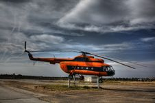 Free Mi 8 Helicopter Stock Photography - 14714152