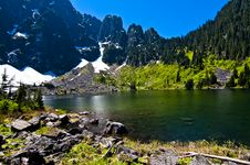 Free High Alpine Lake Stock Images - 14716284