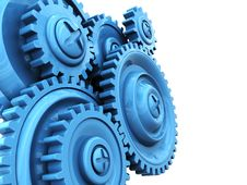Free Gear Wheels Background Royalty Free Stock Images - 14716639