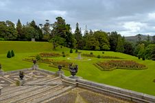Free View Of The Lawn And Park At Powerscourt Royalty Free Stock Image - 14716836