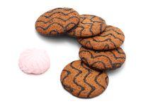 Free Chocolate Chip Cookies Stock Photo - 14717150