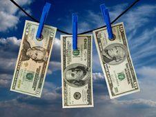 Free Money Royalty Free Stock Image - 14717296