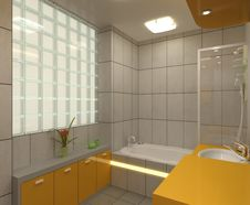 Free Bathroom Royalty Free Stock Photo - 14718495