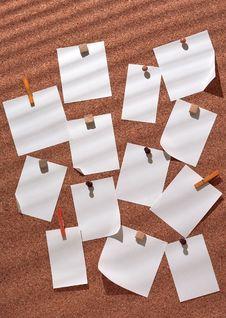 Free White Sticker Royalty Free Stock Photos - 14719518