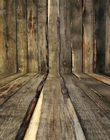Free Wooden Room Royalty Free Stock Photos - 14719568
