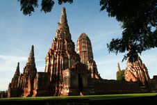 Free Temple In Ayutthaya Royalty Free Stock Photos - 14719788
