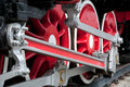 Free Old Steam Engine Wheels Close-up Royalty Free Stock Photography - 14723147