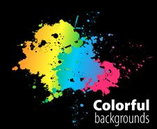 Free Abstract Colorful Background Royalty Free Stock Photos - 14720158