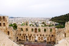 Free Ancient Theatre Of Herodes Atticus I Royalty Free Stock Photo - 14720165