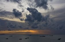Free Sunset Royalty Free Stock Image - 14720186
