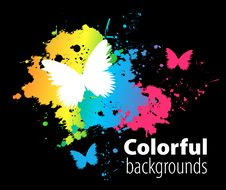 Free Abstract Colorful Background Royalty Free Stock Photos - 14720188