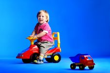Free The Portrait Of A Little One Year Old Boy Stock Photo - 14720300