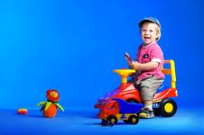 Free The Portrait Of A Happy Little Boy Royalty Free Stock Image - 14720306
