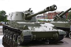 Free Soviet Military Tank Royalty Free Stock Image - 14720586