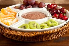 Free Plate With Fruits Royalty Free Stock Photo - 14720955