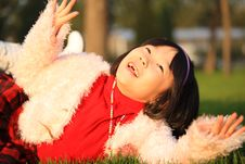 Free Asian Girl Laughing Stock Images - 14721004