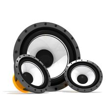 Subwoofers Royalty Free Stock Photo