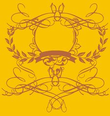 Yellow Baroque Stock Photography