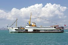 Free Istanbul - Ferry Passing Royalty Free Stock Images - 14722049