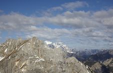Free Hight Mountain Range Landscape Of The Alps Royalty Free Stock Photo - 14722695