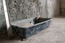 Free Plastic Box With Cement Royalty Free Stock Photo - 14723105