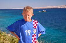 Free A Boy On  Adriatic Sea Royalty Free Stock Photos - 14723498