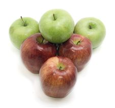 Free Group Of Apples Stock Image - 14723561
