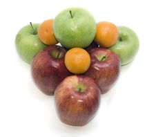 Group Of Fruits Stock Image