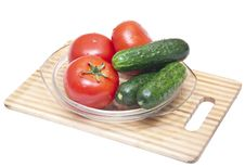 Free Tomatoes And Cucumbers Stock Photos - 14723933