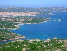 Bay In Sardinia Stock Images