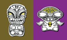 Free Totem Freaks Stock Photo - 14724750