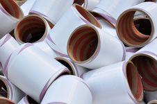 Free Yarn Bobbins For Textile Royalty Free Stock Photo - 14724895