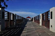 Free Bridge To The Sea Stock Images - 14725094