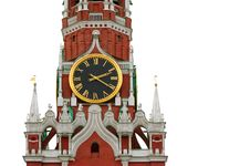 Kremlin Spasskaya Tower, Moscau Royalty Free Stock Photography