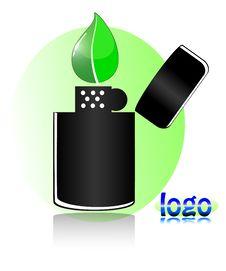 Free Lighter-logo Royalty Free Stock Image - 14725776