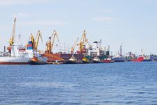 Free View On Trading Port Stock Photography - 14725852