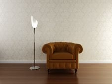 Free Interior Scene With Classic Stock Image - 14726281