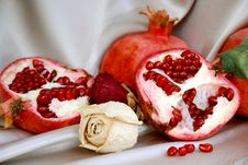 Free Pomegranates Stock Image - 14726361