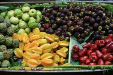 Free Fruit In Wooden Boats Royalty Free Stock Photography - 14727257